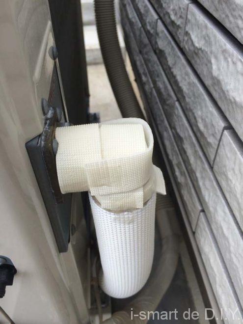 床暖房 配管保温 DIY