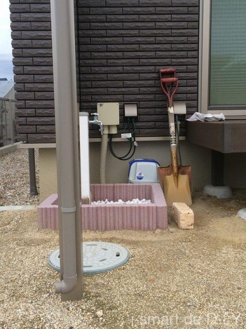 ブロック 立水栓 DIY 失敗