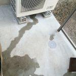 冷房で出て来る室外機のドレン排水をDIYで流そう^^