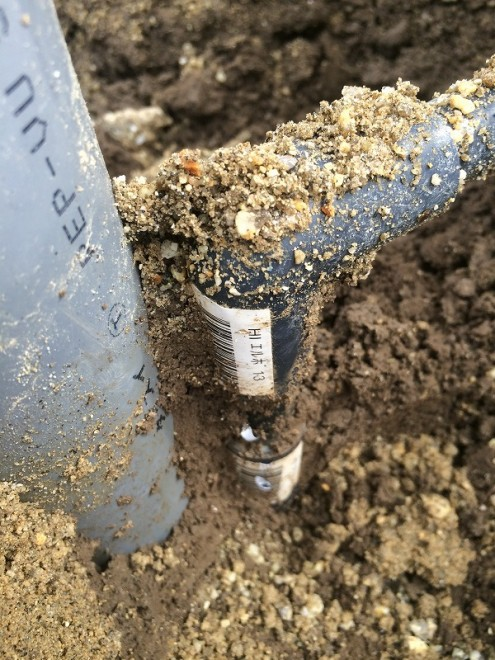 立水栓DIY 配管