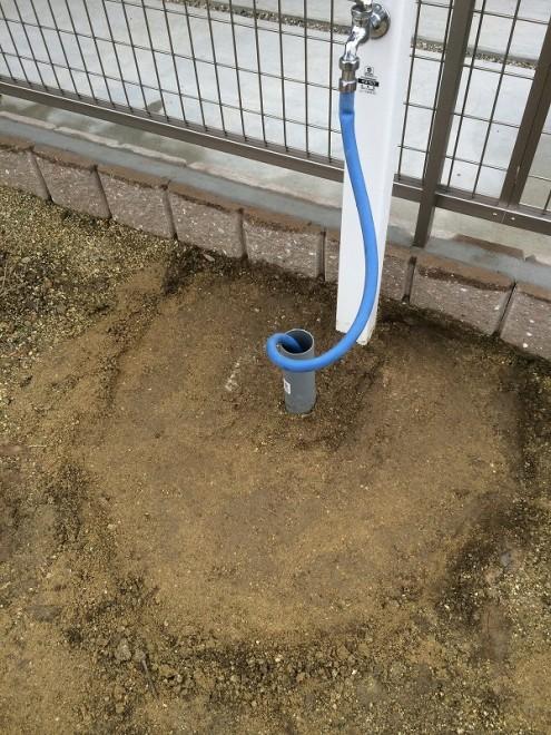 立水栓DIY 基礎