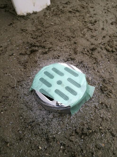 立水栓DIY 配管カット
