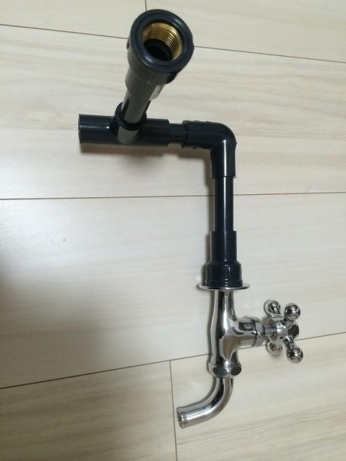 立水栓DIY 配管延長