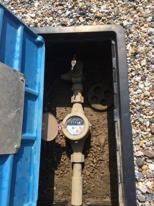 立水栓DIY 断水