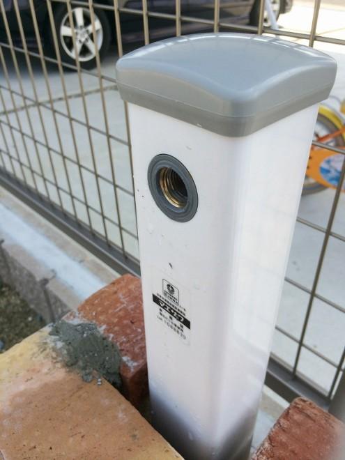 立水栓DIY カット