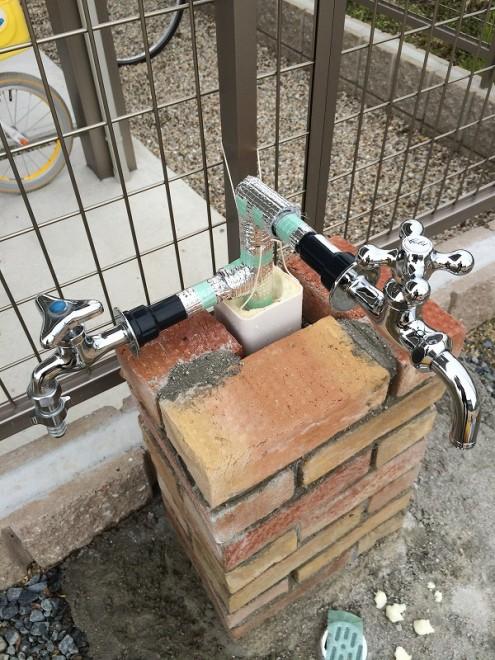 立水栓DIY 蛇口接続