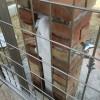 「裏側のレンガ積み編3-8」標準の立水栓をDIYで改造しよう!