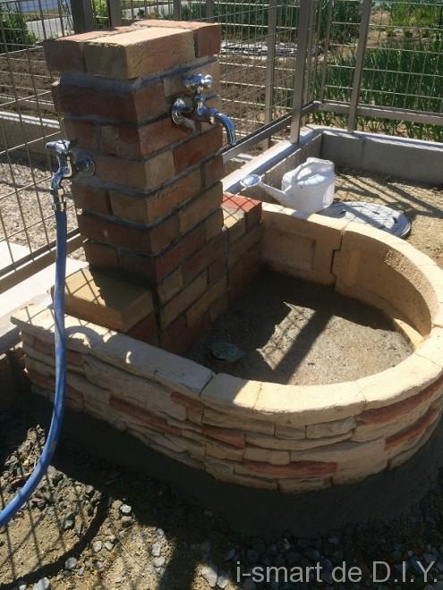 立水栓DIY パン作成