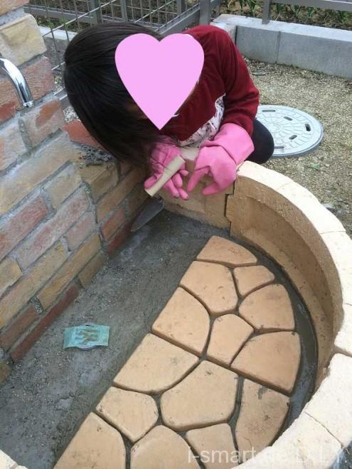 立水栓DIY パン