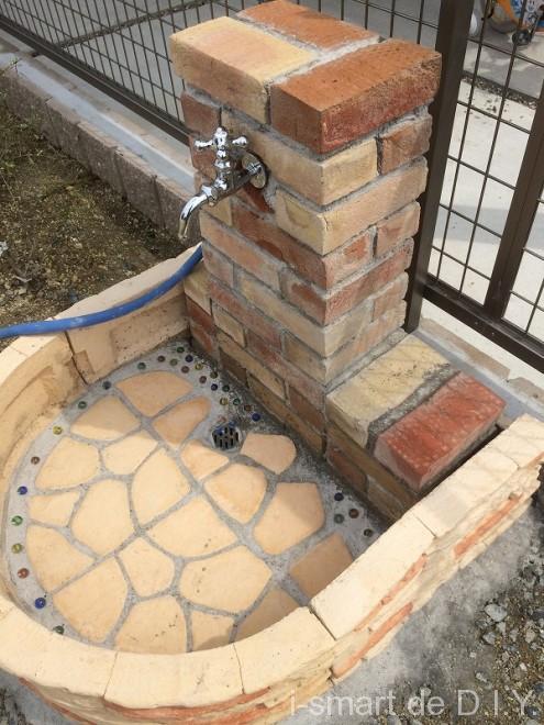 立水栓DIY パン 分岐