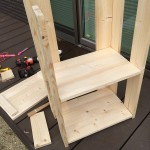 木工DIY第二弾、サービスワゴン作ってみました。(出来悪い)