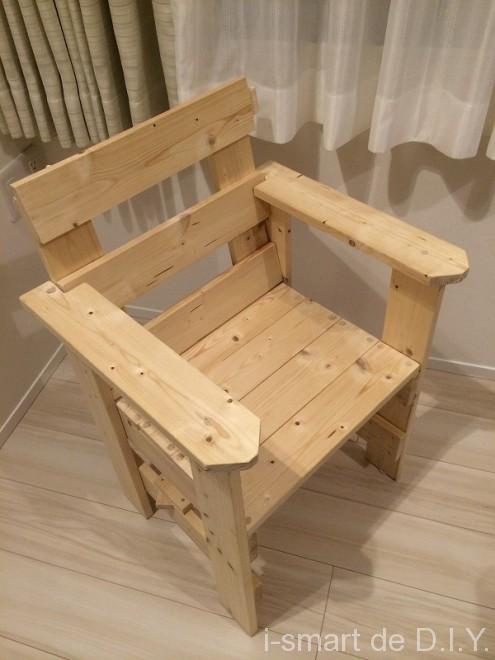 木工DIY イス