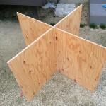 ペケ台って?合板で簡易作業台を作成して、気にせずDIY!