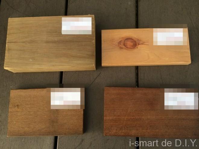 ウッドデッキ 木材 種類