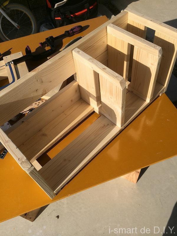 可動式 ブックスタンド DIY