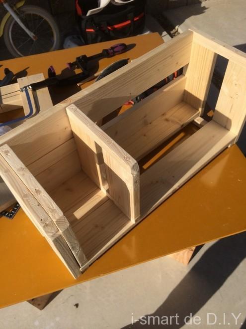 ブックシェルフ 木工DIY