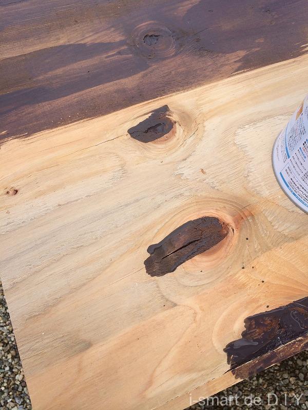 ガーデンシェッド 物置 DIY 屋根 塗装
