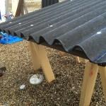 1から作るガーデンシェッド(物置小屋)DIY!その4屋根作成編