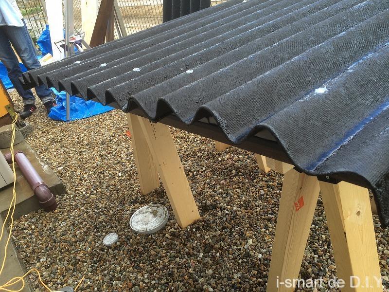 ガーデンシェッド 物置 DIY 屋根