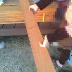 ウッドデッキDIY6 木材はネットで注文する3つのメリット、デメリット