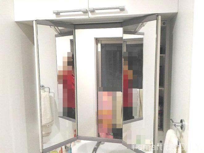 リュクスドレッサー WEB内覧会 三面鏡