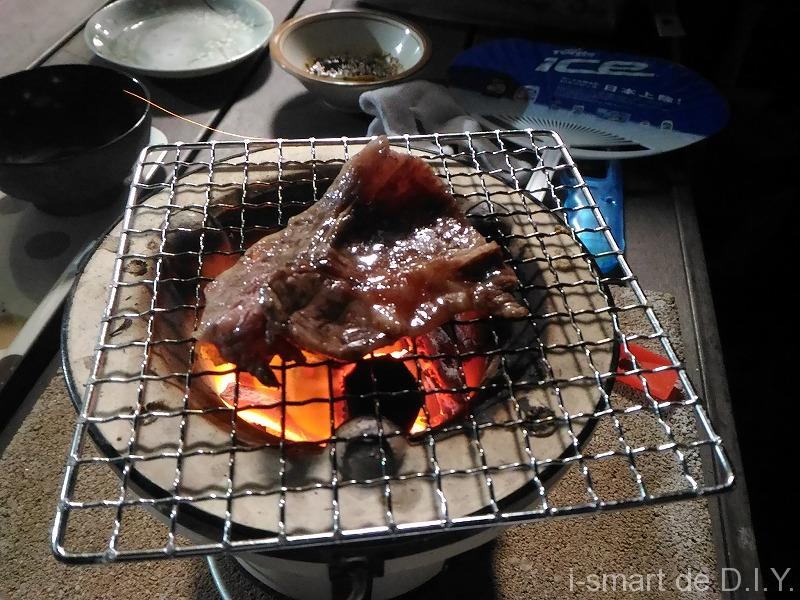 ミニ七輪 焼肉