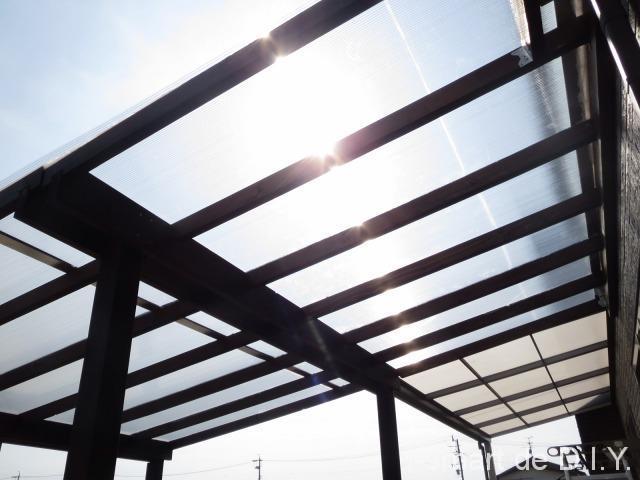 パーゴラ DIY 屋根