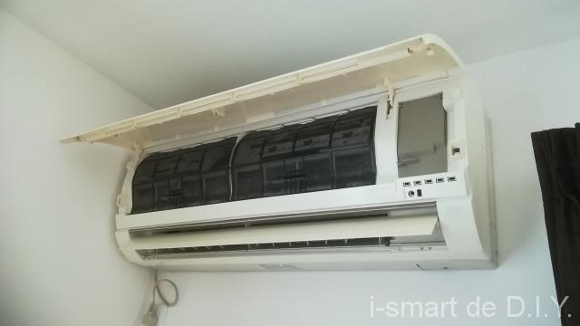 エアコン 分解清掃