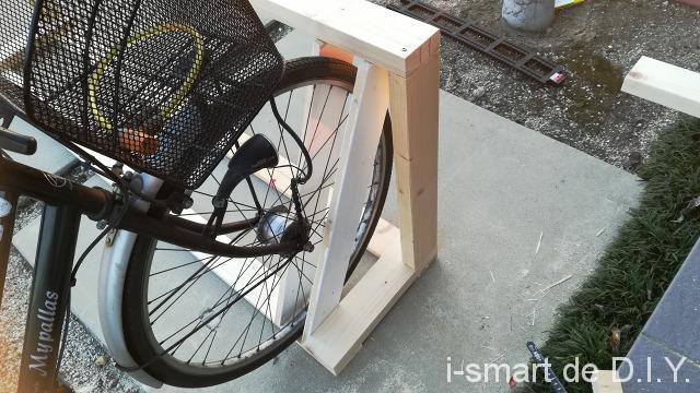 自転車スタンド DIY