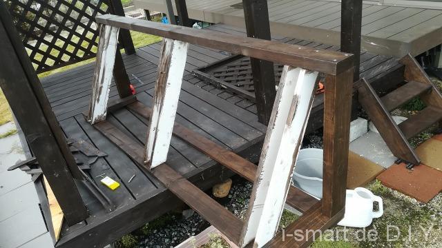 木工 自転車スタンド DIY