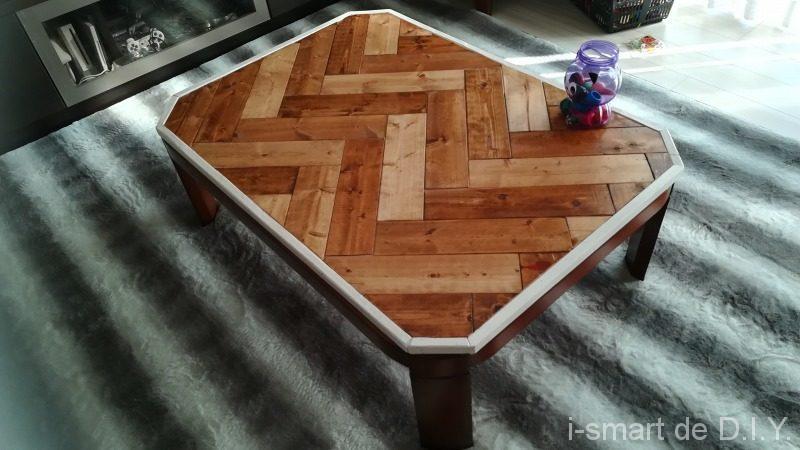 ヘリンボーン テーブル