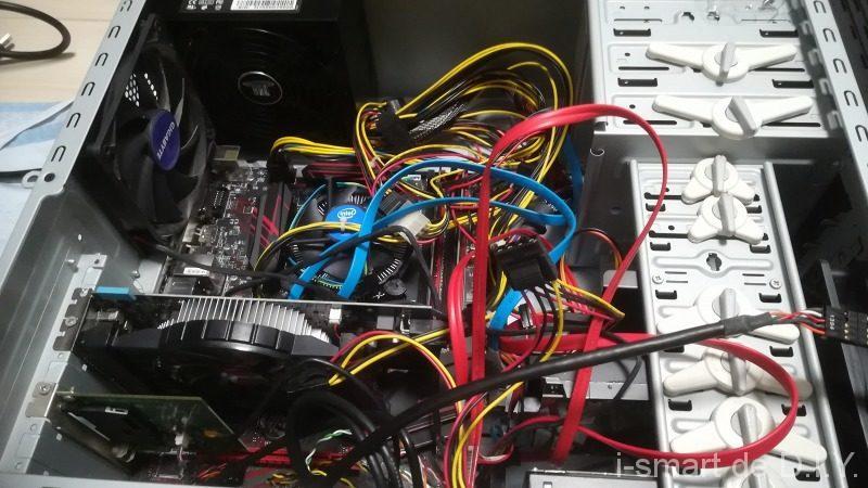 PC ケース 配線
