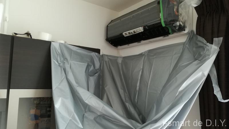 エアコン カビ取り 洗浄