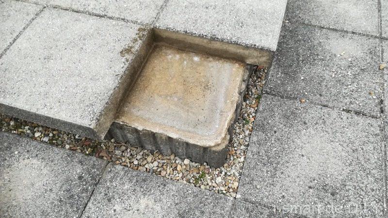 床ブロック タイル 補修