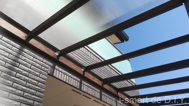 中空ポリカーボネイト 屋根