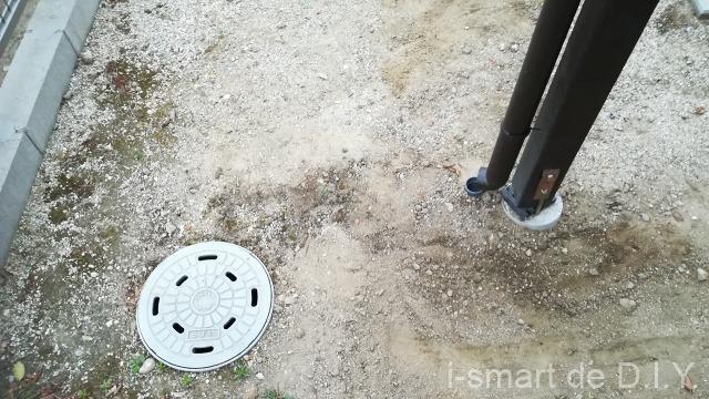 雨水排水枡 穴