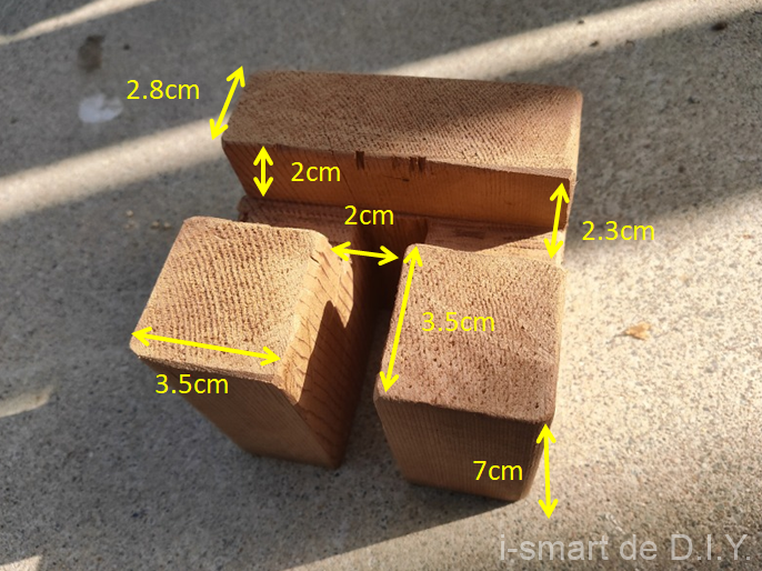 木工 スマホホルダー