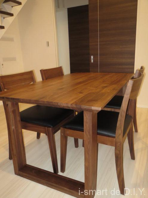 ウォルナット テーブル