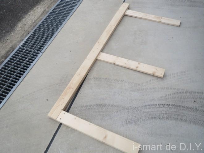 ガーデンシェッド 物置 DIY 壁 側面