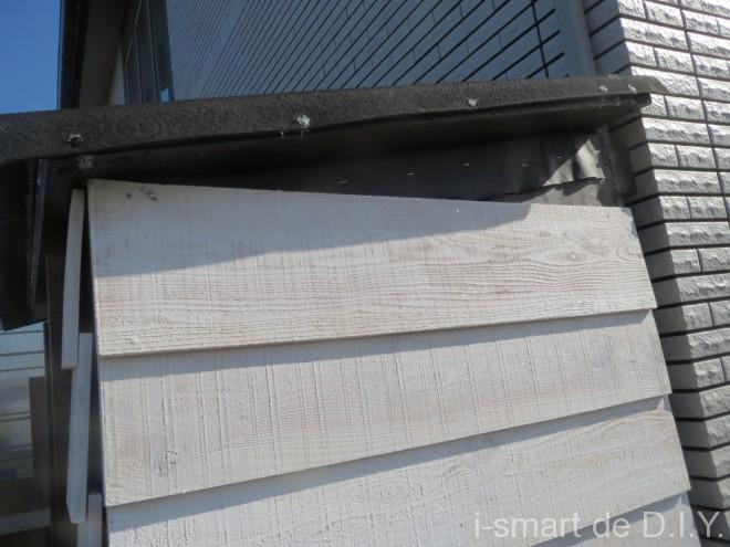 ガーデンシェッド 物置 DIY 鎧張り 塗装