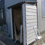 1から作るガーデンシェッド(物置小屋)DIY!その6 扉制作と外観完成!