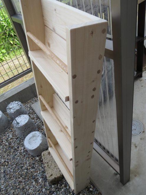 木工DIY ブックシェルフ