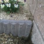 初モルタル補修!DIYでブロックの隙間を埋めてみました。