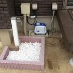 モルタルを触ったこともない初心者だけど、2つ目立水栓パンをDIYしてみる。おまけ回