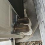 床暖房室外機の配管保温カバー作ってみた。Ver.0.01