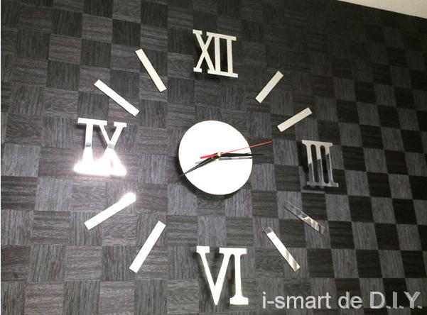 ウォールステッカー時計