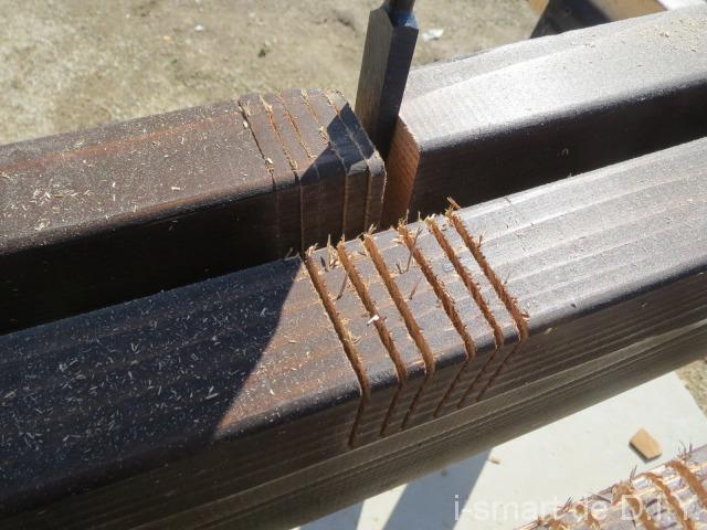 木材 切り欠き作成